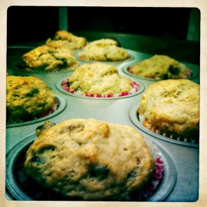 Banana EVOO Muffins